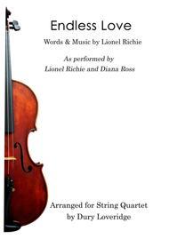 Endless Love - Lionel Richie - String Quartet