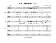 The Gate of Paradise (The Gate of Heaven) for men's voice choir and organ