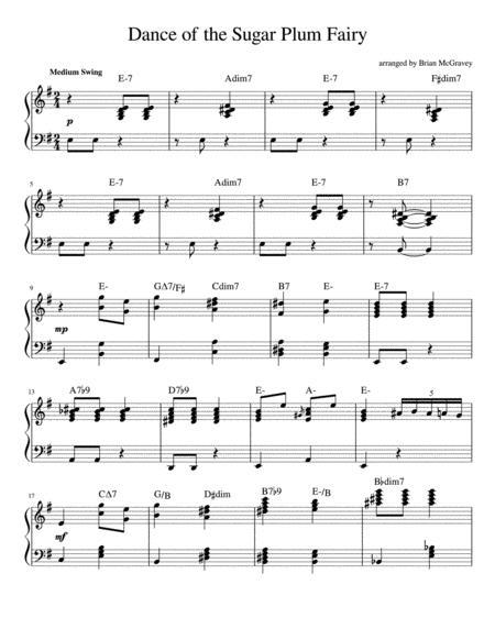 Dance of the Sugar Plum Fairy (Jazz Piano)