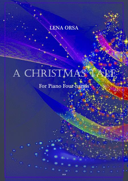 A Christmas Tale for Piano Four-hands
