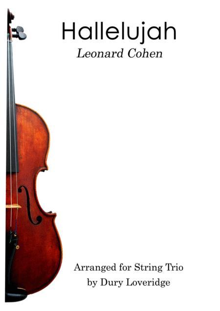 Hallelujah - String Trio - Leonard Cohen - Jeff Buckley