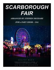 Scarborough Fair (for 2-part choir - (SA)