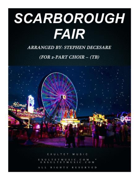 Scarborough Fair (for 2-part choir - (TB)