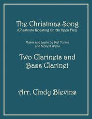 The Christmas Song (Chestnuts Roasting On An Open Fire), for Two Clarinets and Bass Clarinet