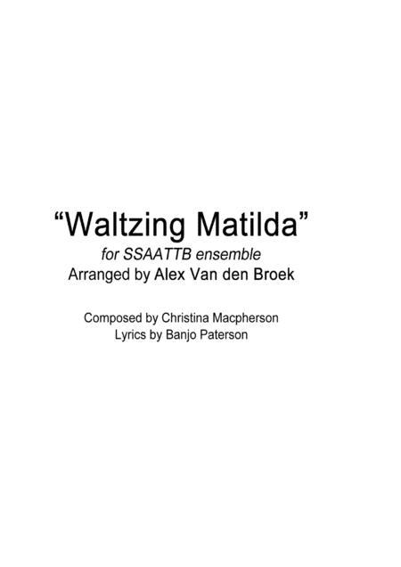 Waltzing Matilda SSAATTB
