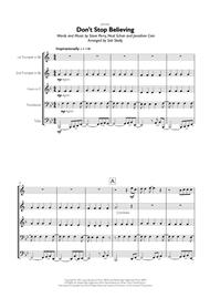Journey - Don't Stop Believin' for Brass Quintet