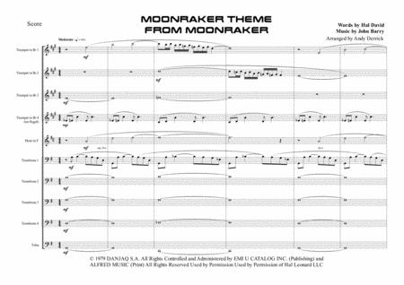 Moonraker Theme for 10 piece brass ensemble