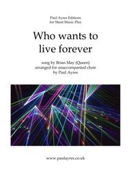 who wants to live forever download