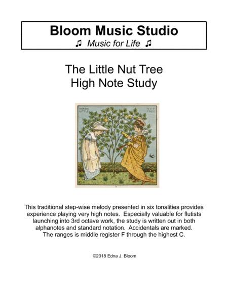 Little Nut Tree - High Note Study