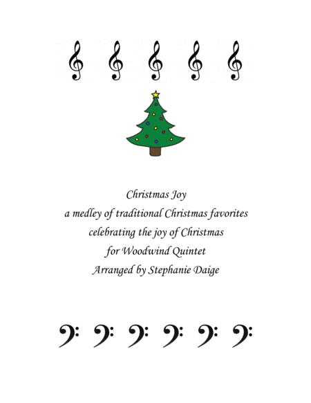 Christmas Joy Medley for Wind Quintet