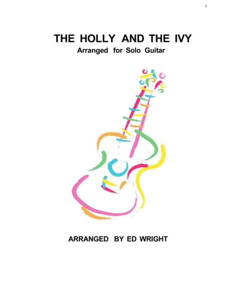 The Holly and The Ivy for Solo Guitar
