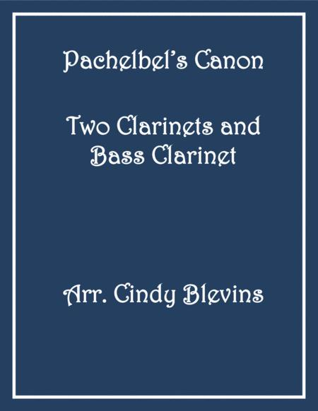Pachelbel's Canon, for Two Clarinets and Bass Clarinet