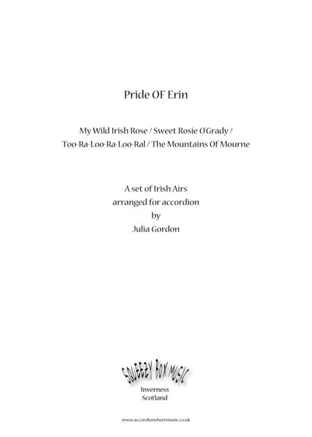 Pride Of Erin Waltz (My Wild Irish Rose / Sweet Rosie O'Grady / Too-Ra-Loo-Ra-Loo-Ral / The Mountains Of Mourne)