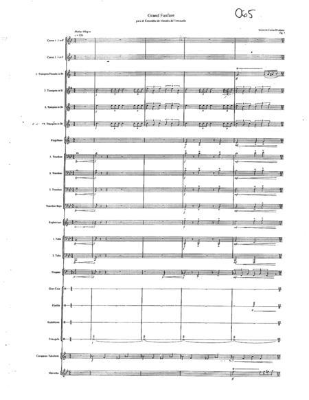 Grand Fanfare - Brass Ensemble
