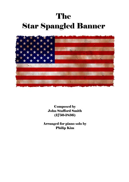 The Star Spangled Banner Advanced Piano Solo