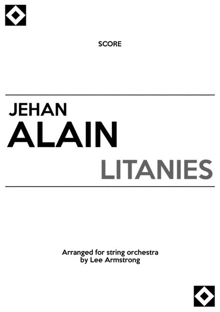 Alain Litanies for string orchestra