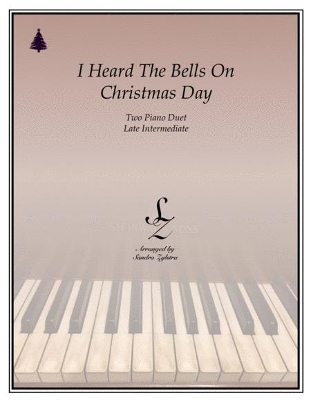 I Heard The Bells On Christmas Day (2 piano duet)