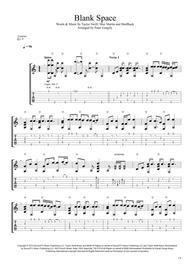 Blank Space (Fingerstyle Guitar)