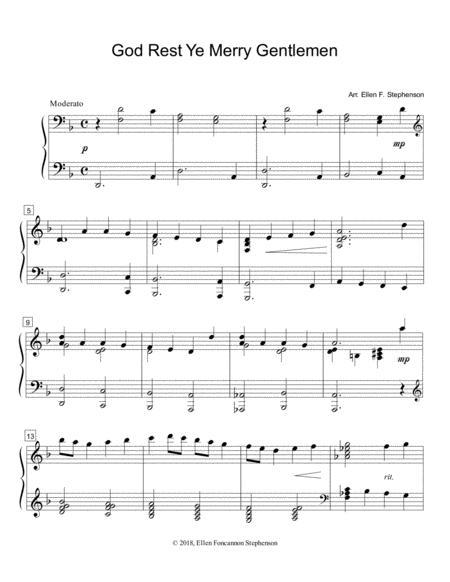 God Rest Ye Merry Gentlemen (solo)