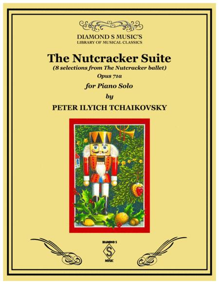 THE NUTCRACKER SUITE by Tchaikovsky for Piano Solo