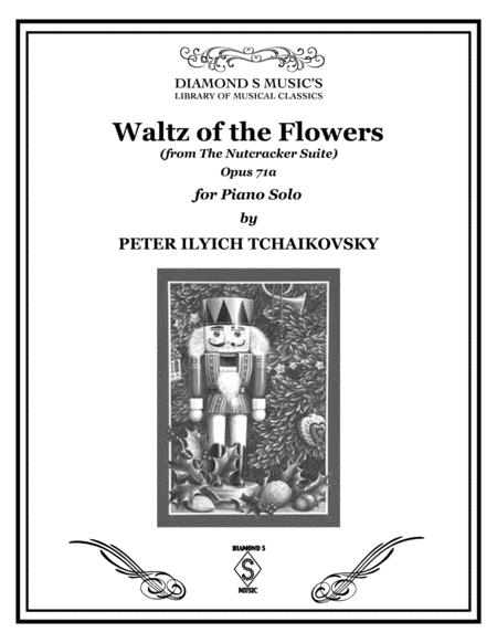 WALTZ OF THE FLOWERS from The Nutcracker Suite by Tchaikovsky for Piano Solo
