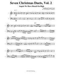 Seven Christmas Duets, Vol. 2