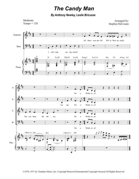 The Candy Man (for SATB)