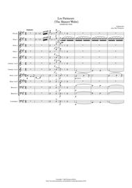 Waldteufel: Les Patineurs (The Skaters' Waltz)(original key) - symphonic wind