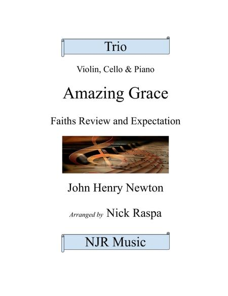 Amazing Grace (piano trio - Violin, Cello & Piano)