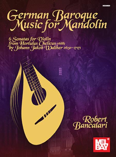 German Baroque Music for Mandolin