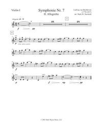 Symphony No. 7, II. Allegretto