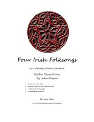 4 Irish Folksongs for Flute Trio