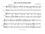 The Gate of Purgatory for alto, bass and organ