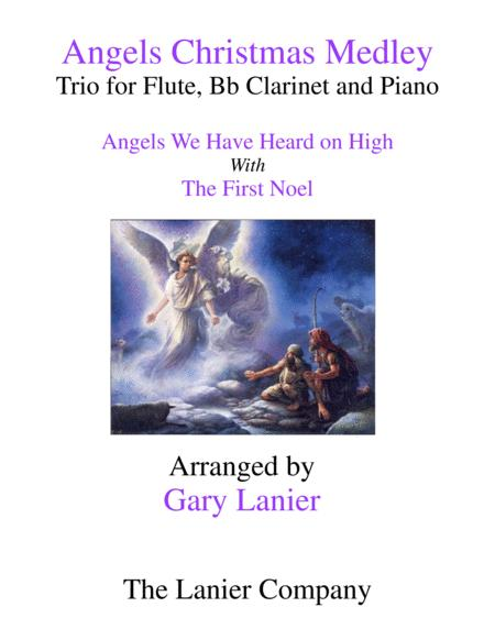 ANGELS CHRISTMAS MEDLEY (Trio for Flute, Bb Clarinet and Piano)
