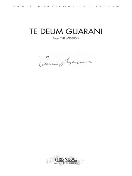 TE DEUM GUARANI from The Mission