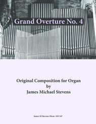 Grand Overture No. 4 - Organ in C Major