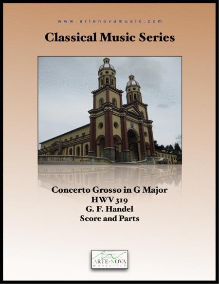 Concerto Grosso Opus 6 No 1 HWV 319