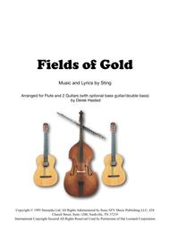 Fields Of Gold for flute, 2 guitars and optional bass