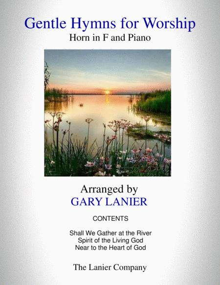 GENTLE HYMNS FOR WORSHIP (Horn in F and Piano with Parts)