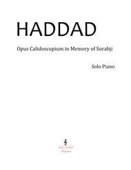 Opus Calidoscopium in Memory of Sorabji Op.2
