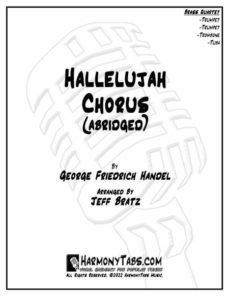 Hallelujah Chorus (Abridged) (Brass Quartet)