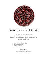 4 Irish Folksongs for flute, clarinet, and bassoon