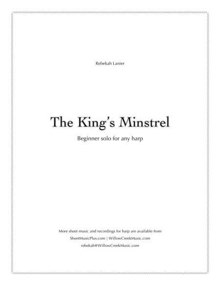 The King's Minstrel - solo for beginner harpists