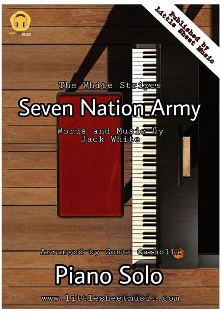 Beginner Seven Nation Army Piano Notes