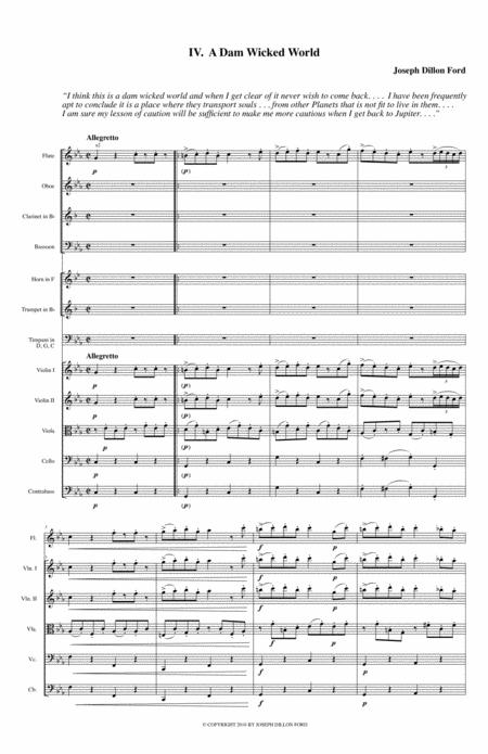 Symphony in C MINOR - The Fitch Symphony - 4th movement (Rondo Allegro)