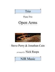Open Arms (Piano Trio) Violin, Cello and Piano