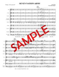 SEVEN NATION ARMY (White Stripes, 2003) - for pep band, basketball band, jazz combo, small jazz ensemble