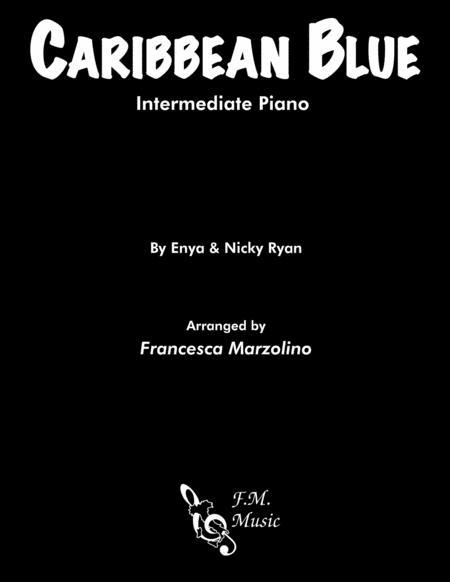 Caribbean Blue (Intermediate Piano)