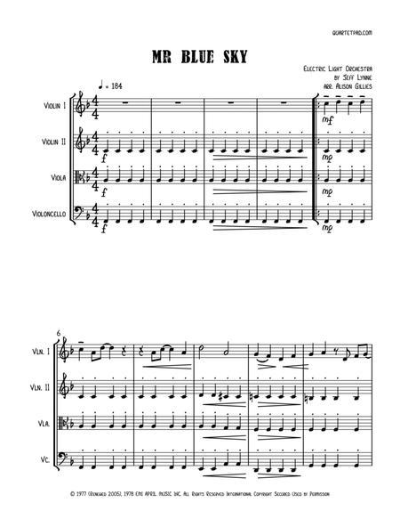 Mr. Blue Sky - String Quartet