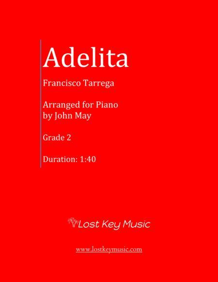 Adelita-Piano